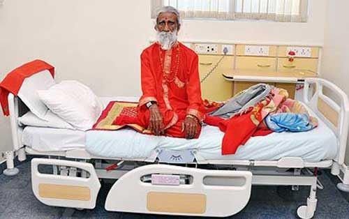 震惊!印度奇人70年不吃不喝还活着