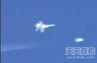 中国的军机追击UFO卫星图大曝光