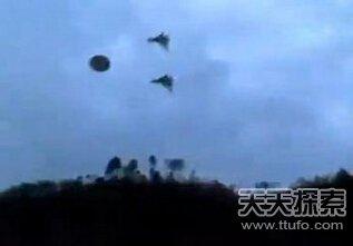 美国的空军曾经前去追击过ufo飞