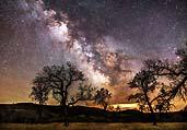 仰望天河:夜晚绝美的星